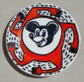 Mickey, 2002, ceramics, marker