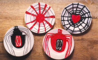 About Louise Bourgeois, 2003, ceramics, marker